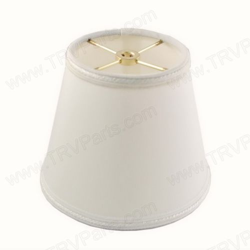 Gold brass triad rv parts 336 499 7662 small off white lampshade gold hardware and english trim sku2024 aloadofball Image collections